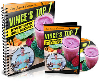 Vince's top 7 juicing recipes in HD video